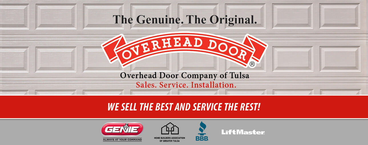 Overhead Door Residential of Tulsa Offers the Best Garage Doors in the Greater Tulsa Area